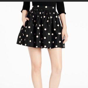 Kate Spade Corrine skirt. Polka dot. Size 4
